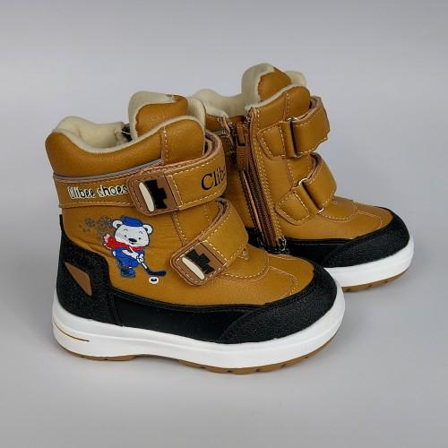 Ботинки Clibee 1370 кэмел