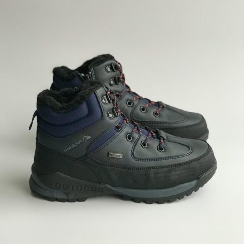 Ботинки зимние Clibee 1386 темно-синие