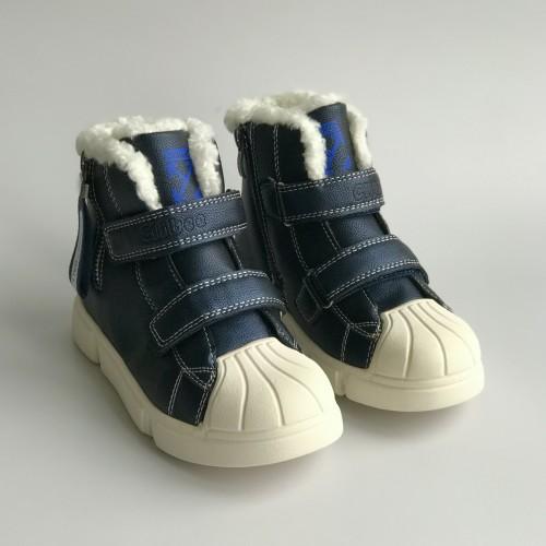 Ботинки зимние Clibee 1356 синие