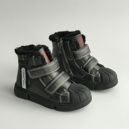 Ботинки зимние Clibee 1359 серые
