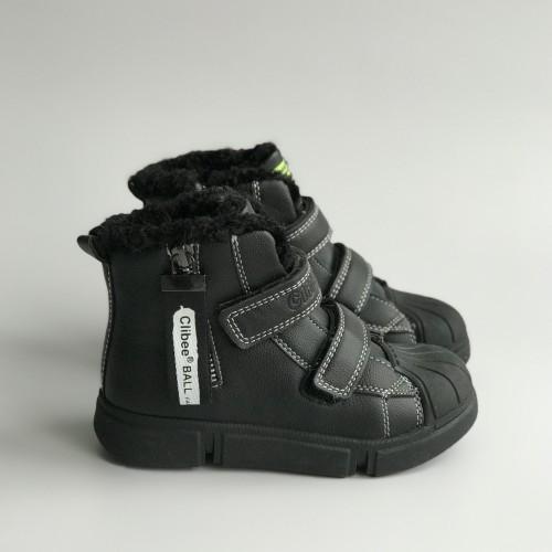 Ботинки зимние Clibee 1357 черные