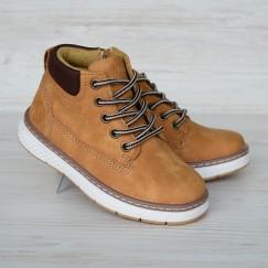 Ботинки Clibee 0984 рыжие
