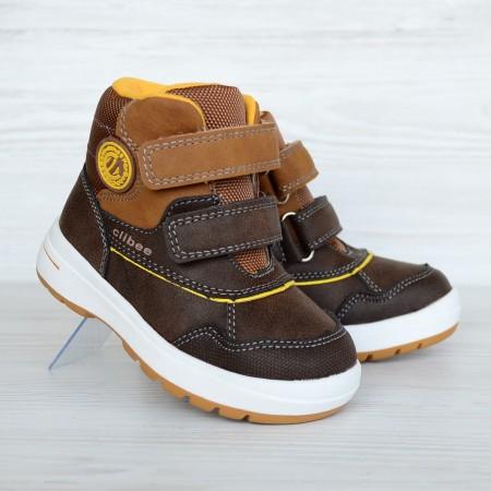 Ботинки Clibee 1019 коричневые