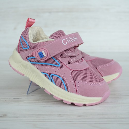 Кроссовки Clibee 0855 розовые