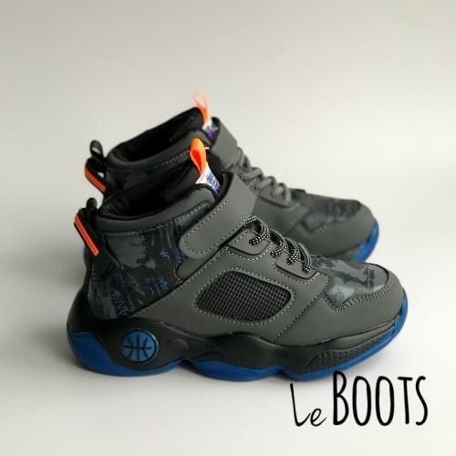 Ботинки Clibee 1456 серые