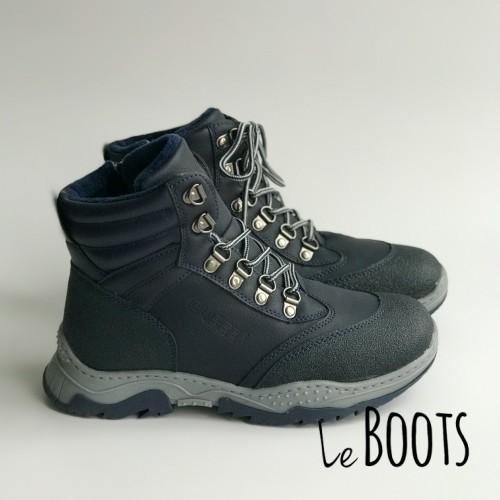 Ботинки зимние Clibee 1387 синие